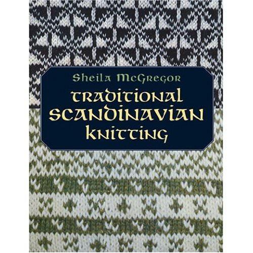 Книга с традиционными скандинавскими узорами