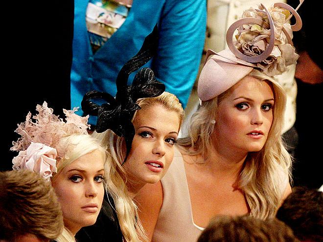Амелия, Элиза и Китти Спенсер - кузины жениха со стороны матери