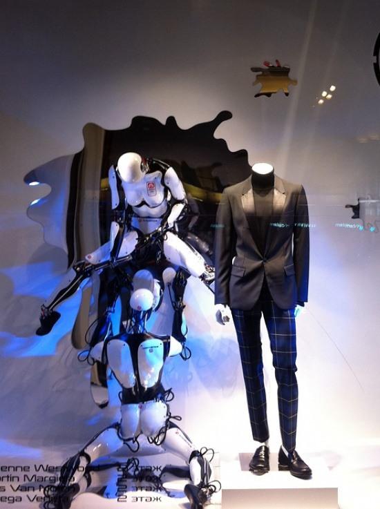 Робот и робт занимаются сексом