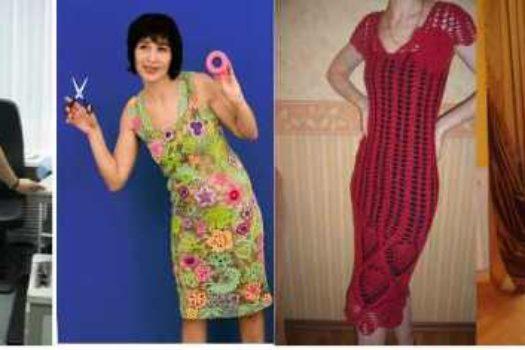 Вязаное платье: отличная техника, плохой результат