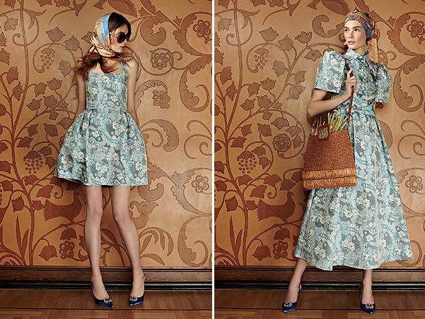 Барышня-крестьянка  A La Russe весна-лето 2013 - Модный блог 63d355b0d2b