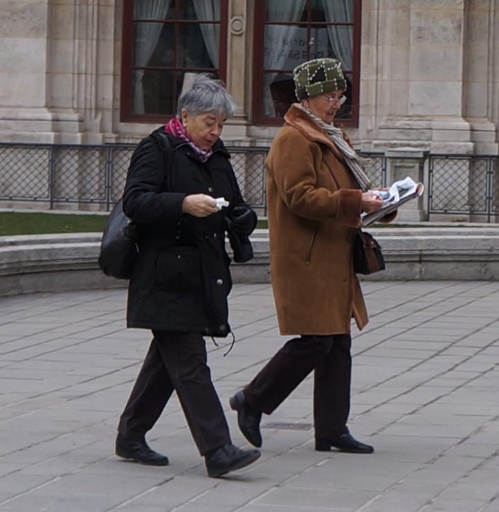жителям вены хорошо знаком этот пожилой