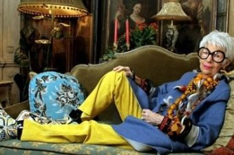 Айрис Апфель о себе, и моде и о жизни