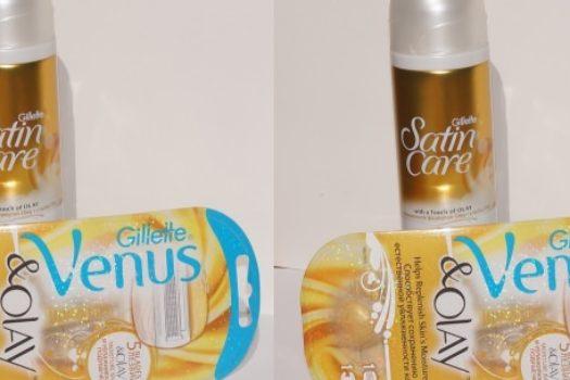 Gillette Venus & Olay Razor – бритье как приятная процедура