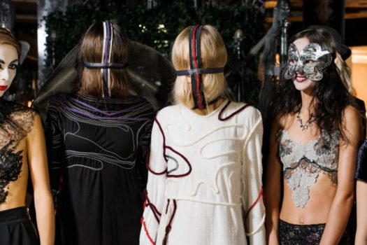 Halloween Fashion Party в ТЦ Домосфера:  показ