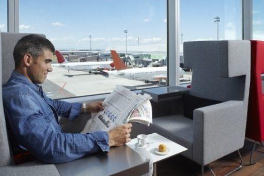 Ждать вылета с комфортом: MasterCard Lounge в Борисполе