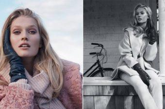 Элегантность в холода — фотосессия в Vogue Украина