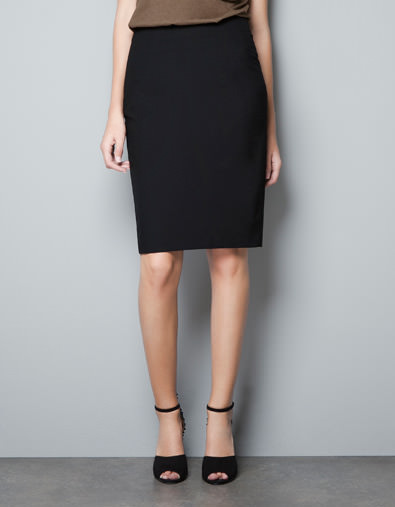 Basic-Pencil-Skirt-Zara-25.95-Euro
