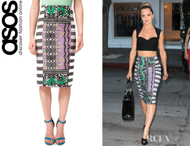 Mena-Suvaris-ASOS-AFRICA-Pencil-Skirt