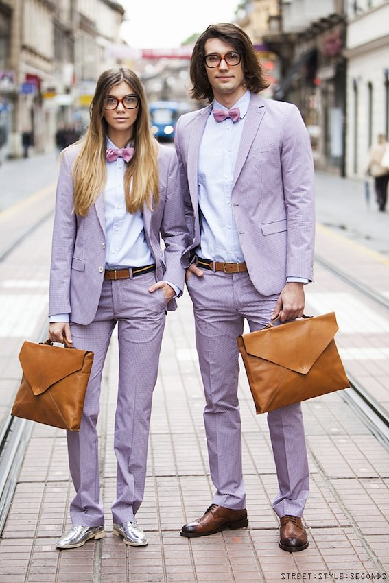 Street style seconds fashion zara man woman 2
