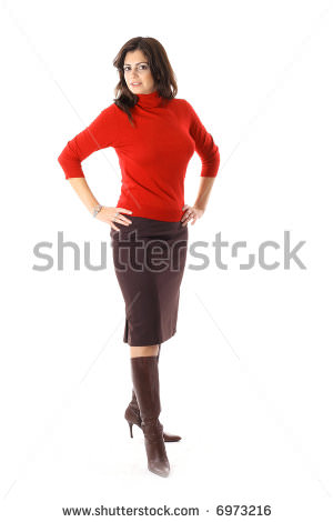 stock-photo-woman-posing-in-pencil-skirt-boots-6973216
