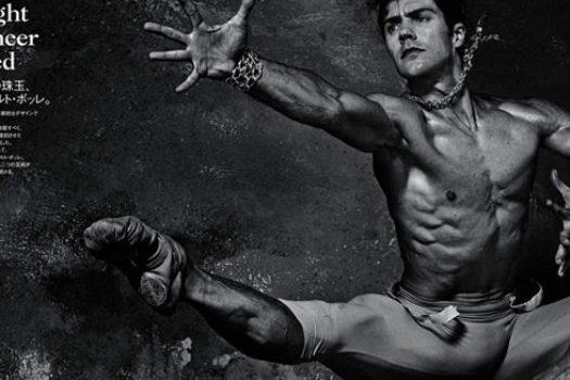 Роберто Болле  и балетная фотосессия
