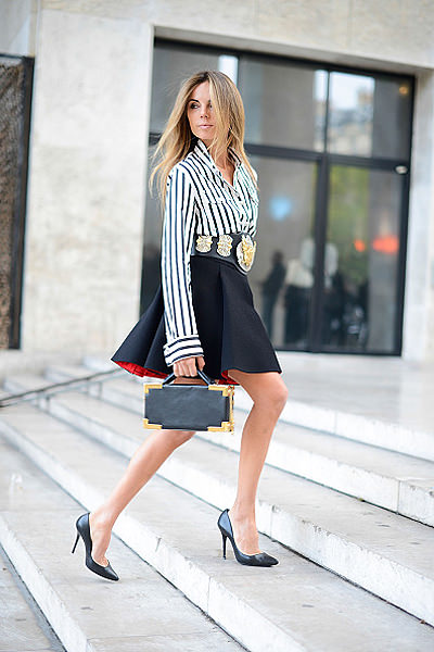Street Style - Paris Fashion Week, Womenswear S/S 2015 : September 24th