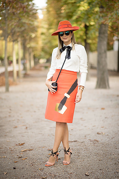 Street Style - Paris Fashion Week, Womenswear S/S 2015 : September 25th