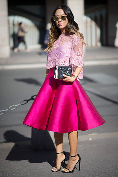 Street Style - Paris Fashion Week, Womenswear S/S 2015 : September 26th