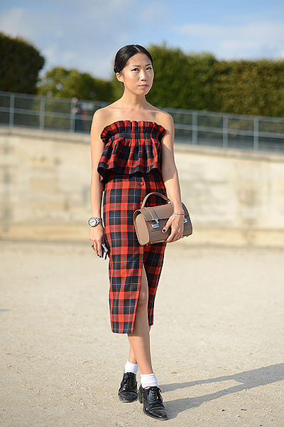 Street Style - Paris Fashion Week, Womenswear S/S 2015 : September 29th