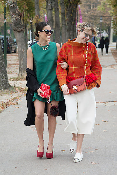 Street Style - Paris Collections: WOMEN SS15 - September 23 To September 01 October, 2014