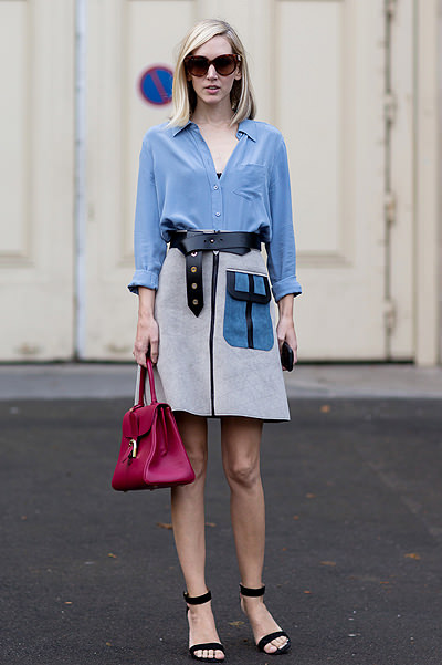 Paris Fashion Week - Spring/Summer 2015 - Streetstyle Featuring: Jane Keltner De Valle Where: Paris, France When: 29 Sep 2014 Credit: The Styleograph/WENN.com