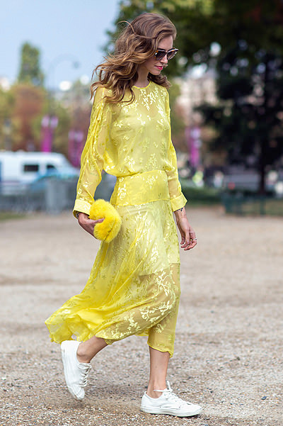 Paris Fashion Week - Spring/Summer 2015 - Streetstyle Featuring: Chiara Ferragni Where: Paris, France When: 29 Sep 2014 Credit: The Styleograph/WENN.com