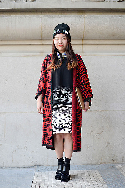 Street Style - Paris Fashion Week, Womenswear S/S 2015 : September 30th