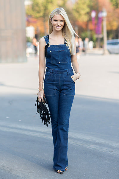 Paris Fashion Week - Spring/Summer 2015 - Streetstyle Featuring: Kate Davidson Hudson Where: Paris, France When: 30 Sep 2014 Credit: The Styleograph/WENN.com