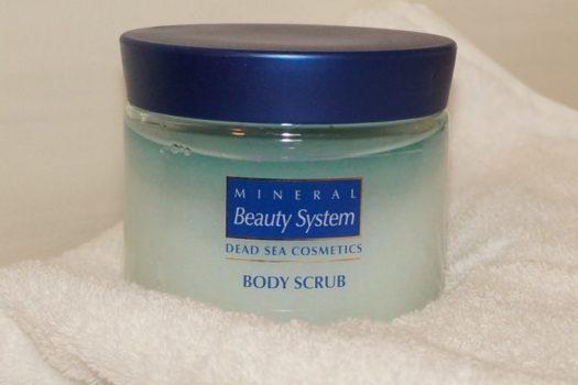 Скраб для тела Mineral Beauty System  с солью Мертвого Моря