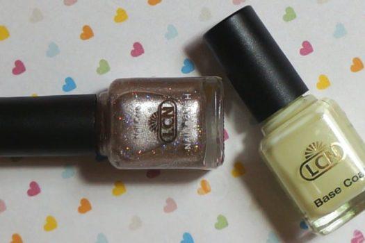 LCN: базовое покрытие и лак для ногтей Twinkle Star