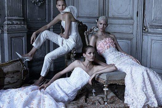 Dior New Couture: альбом Патрика Демаршелье