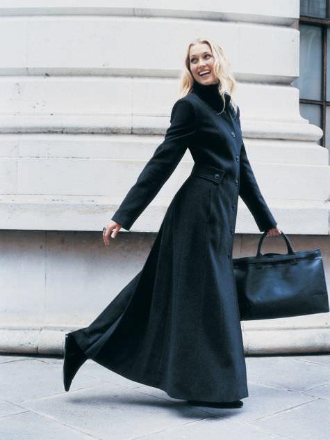 Black-Womens-Long-Coat