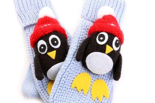 Забавные рукавички