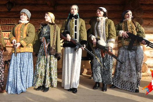 Русский народный костюм и «русская одежда»