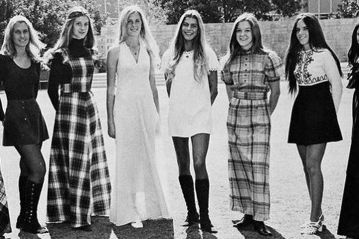 70s fashion began where the 60s