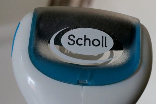 Для нежных пяточек – электрическая роликовая пилка Scholl Velvet Smooth