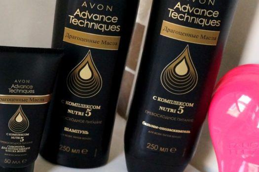 Серия «Драгоценные масла» и расческа Tangle Teezer Avon