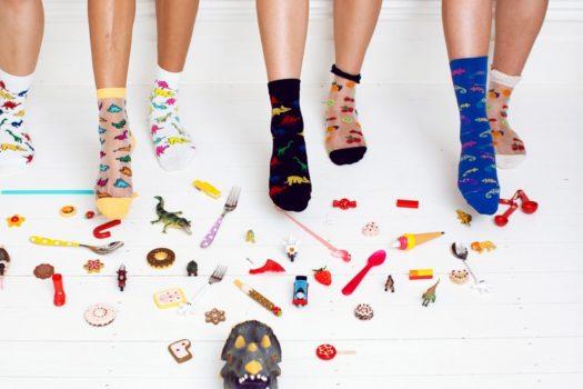 В моей ленте: яркие носки и забавные образы