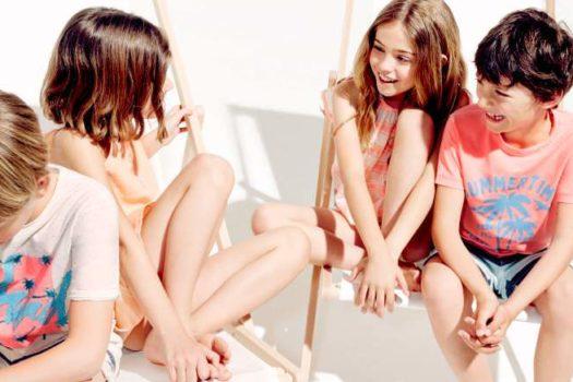 Летний детский лукбук от Zara