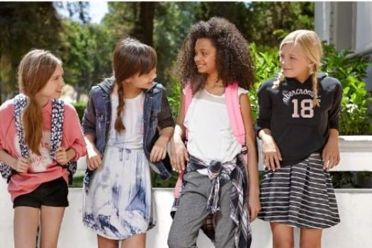 Abercrombie Kids — вдохновляемся лукбуками