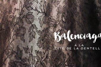 Кружево в творчестве Баленсиаги