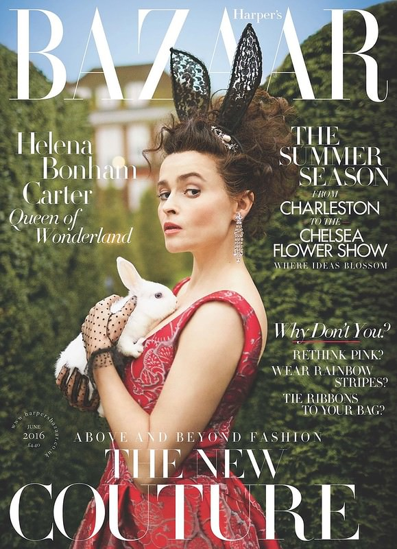 Хелена Бонем-Картер в Harper's Bazaar UK