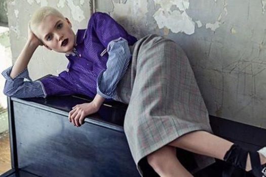 Vogue Korea и фотосет с Рут Белл