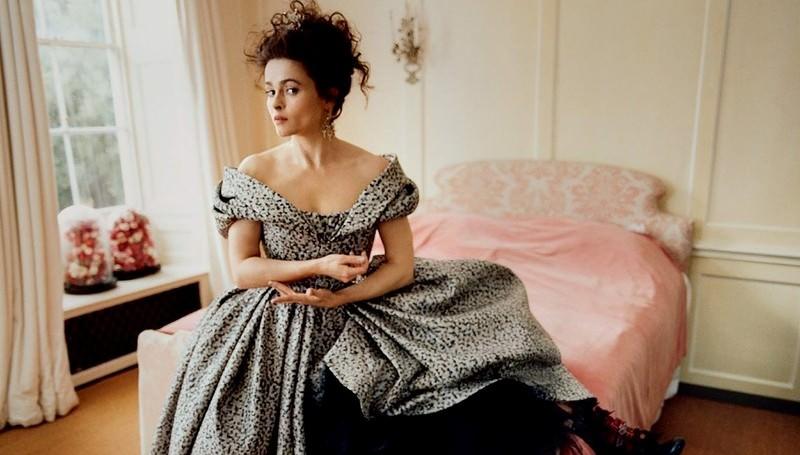 Хелена Бонем-Картер в Harper's Bazaar UK