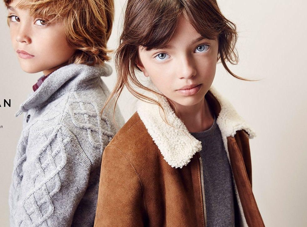 Massimo Dutti дети осень