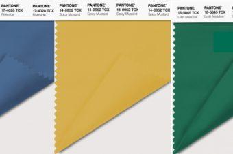 Актуальные цвета для осени: прогноз Pantone
