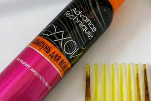 Сухой шампунь Avon Advance tehniques — как с ним подружиться