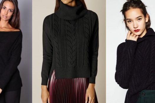 Шоппинг-гид: ищем идеальный черный свитер