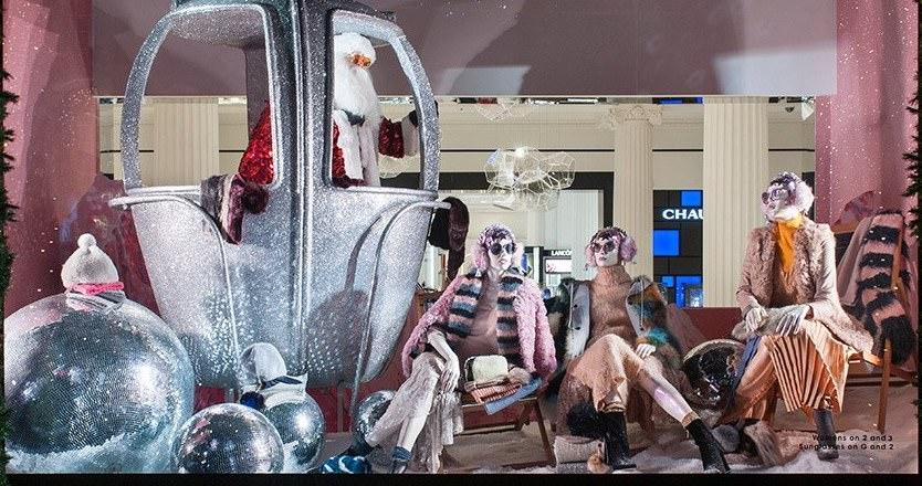 Рождественские витрины 2016