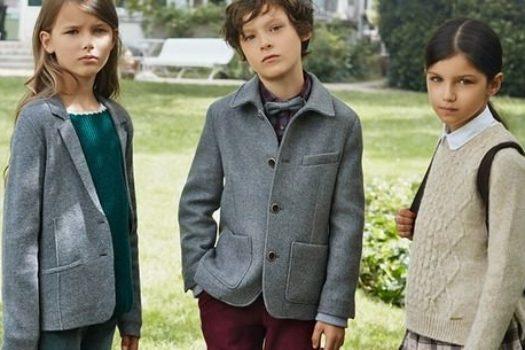 Детские зимние коллекции Massimo Dutti