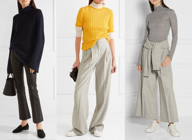 Как носить джинсы и свитер