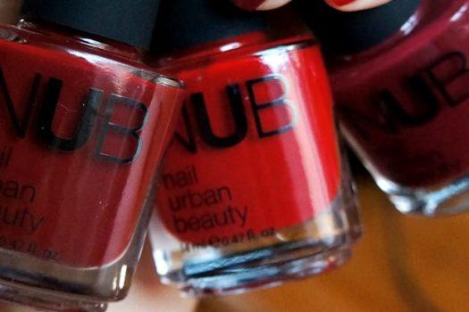 Лаки для ногтей NUB: подбираем идеальный красный для новогоднего наряда