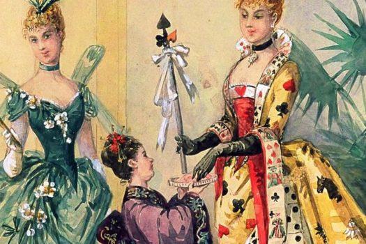 Маскарадные костюмы Викторианской эпохи